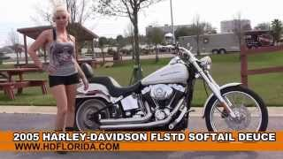 10. Used 2005 Harley Davidson  Softail Deuce Motorcycles for sale in Florida