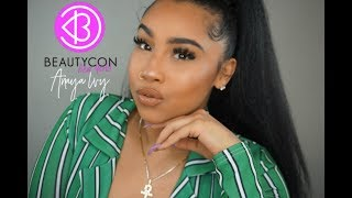 BEAUTYCON NYC 2018 CHIT-CHAT, PRODUCTS,ETC. | TheAnayal8ter