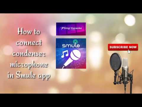 How To Use Condenser Mic In Smule, Starmaker App BM-800