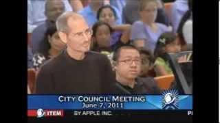 Steve Jobs last public appearance