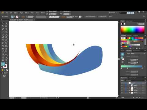 logo - http://www.designcourse.com - This is a very quick and simple logo design tutorial in Illustrator CS6. http://www.garysimon.net/logo_design - You can hire me...