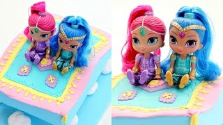 "SUBSCRIBE HERE ~ http://bit.ly/cakestyleCOOL CAKES ~ http://bit.ly/coolcakestyleHi everyone! Today I made a Shimmer and Shine cake that's just like a magic carpet! My favourite part was making those clouds. Let me know your fave character or favourite part of this cake. Follow UsWEBSITEhttp://cake.style/FACEBOOKhttps://www.facebook.com/cakestyletvTWITTERhttps://twitter.com/Cake_StyleINSTAGRAMhttp://instagram.com/cakestyle_PINTERESThttp://www.pinterest.com/cakestyletv/9"" x 13"" slab cake - 1 batch of my vanilla cake recipe - http://cake.style/2016/03/01/vanilla-cake/ Sweet Buttercream - http://cake.style/2016/03/01/sweet-buttercream/ Music - ""Dreams come true""""Friends forever""""Stargazing""Artist: Silver Dolphin Musichttps://www.youtube.com/user/silverdolphinmusic.http://silverdolphinmusic.weebly.com/License Creative Commons CC BYhttps://creativecommons.org/licenses/by/4.0/#"