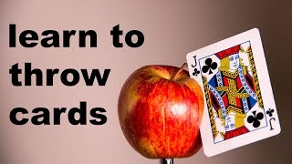 Video This Week I Learned to Throw Cards MP3, 3GP, MP4, WEBM, AVI, FLV Januari 2019