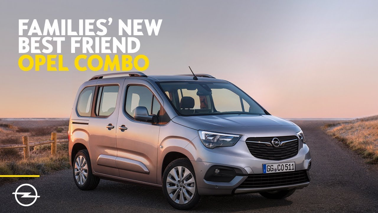 Families' New Best Friend | Discover the all-new 2018 Opel Combo Life