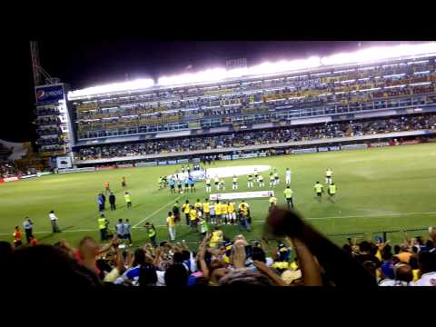 Video - Recibimiento Boca Vs Zamora Libertadores 2015 11/3 - La 12 - Boca Juniors - Argentina