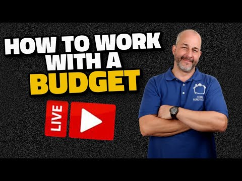 How To Work With A Budget Live Show!
