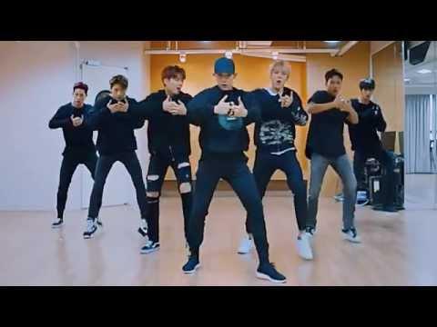 Video Monsta X 'HERO' mirrored Dance Practice download in MP3, 3GP, MP4, WEBM, AVI, FLV January 2017