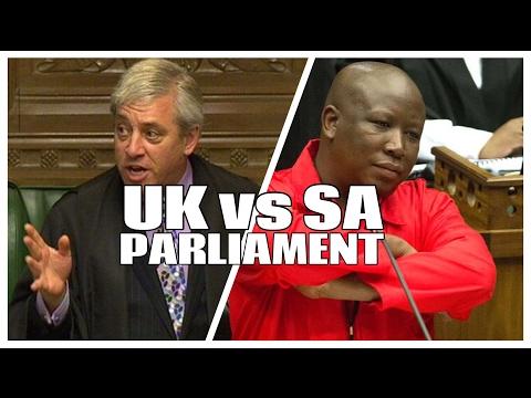 UK PARLIAMENT VS SA PARLLIAMENT