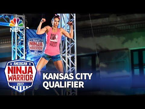 Maggi Thorne at the Kansas City Qualifiers - American Ninja Warrior 2017