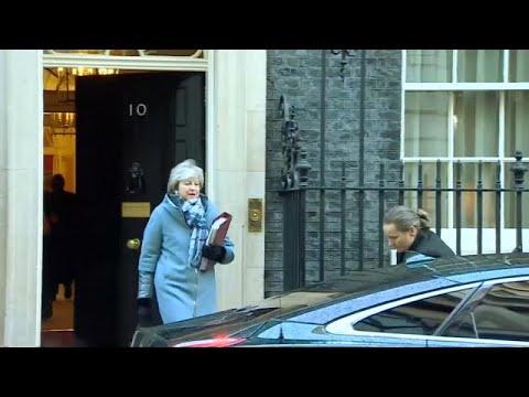 Συνάντηση Τερέζας Μέι και Τζέρεμι Κόρμπιν για το Brexit