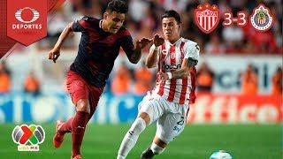 Video ¡Reñido empate! | Necaxa 3 -3 Chivas | Clausura 2019 - J6 | Televisa Deportes MP3, 3GP, MP4, WEBM, AVI, FLV Februari 2019