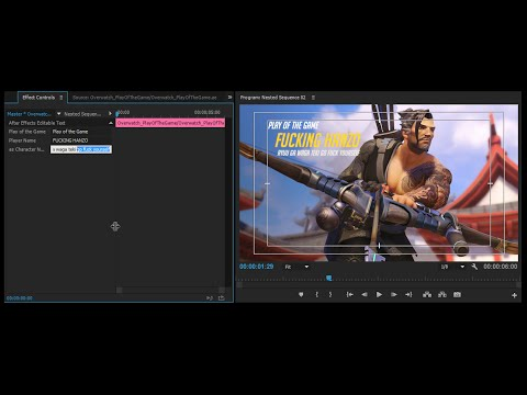 Y\'all remember that Play of the Game text animation preset I made ...