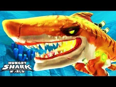 NEW DEADLY TOXIC MAX ATOMIC SHARK ! - Hungry Shark World