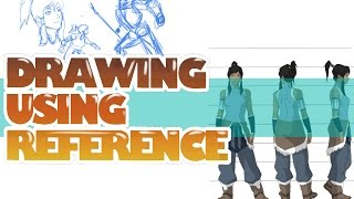 How to draw using reference - clip studio
