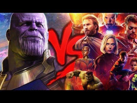 Vingadores VS. Thanos | Duelo de Titãs (ESPECIAL VINGADORES: GUERRA INFINITA) (видео)