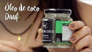 Óleo de coco Dauf