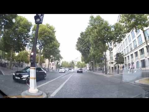 Driving In Paris - Avenue De New York - Avenue d'Iena