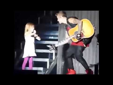 Video Justin Bieber playing with Jazzy on Stage in Cordoba, Argentina 2013 | Believe Tour download in MP3, 3GP, MP4, WEBM, AVI, FLV January 2017