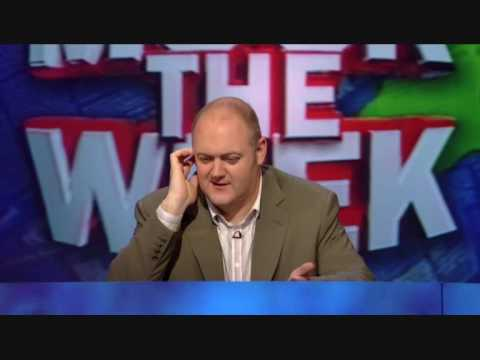 """The panel members on """"Mock the Week"""" are asked to refrain from making blind jokes about David Blunkett by BBC..."""