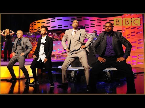 Will & Jaden Smith, DJ Jazzy Jeff and Alfonso Ribeiro on The Graham Norton Show