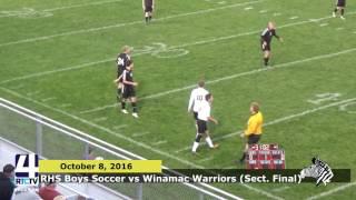 RHS Boys Soccer Sectional vs North Miami