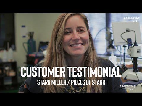 <h3>Customer Testimonial - Starr Miller / Pieces of Starr</h3>
