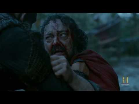 Vikings - King Aelle's Death Blood Eagle / Ending Scene [season 4b Official Scene] (4x18) [hd]