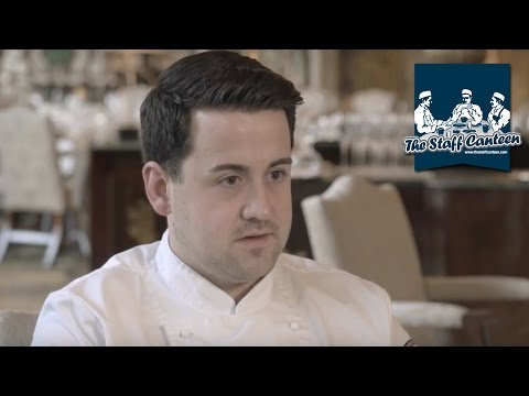 Michael Wickham sous chef at the RAC Club, London, on entering and winning the Kikkoman Masters