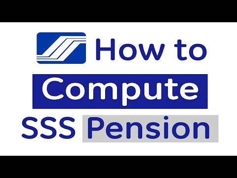 How to Compute SSS Retirement Pension - Sample Computation and Formula