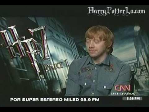 CNN en español entrevista a Rupert Grint.