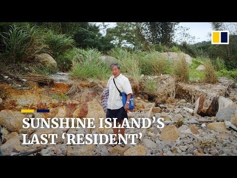 Last 'resident' of Hong Kong's abandoned Sunshine Island objects to Lantau reclamation plan