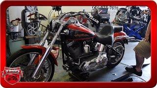 9. 2006 Harley Davidson Softail Deuce Bobber Conversion Teardown Part 1