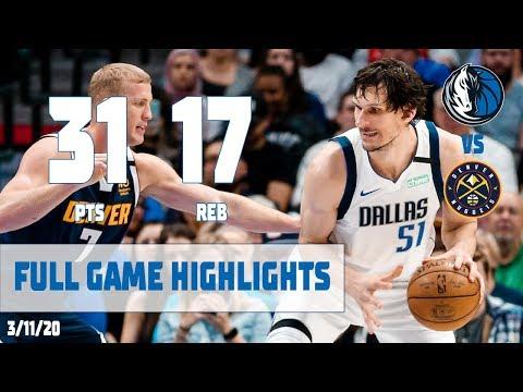 Boban Marjanovic (Career-High 31 Points) Highlights vs. Denver Nuggets