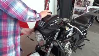 9. How To Mount Puig Motorcycle Fly Screen Wave