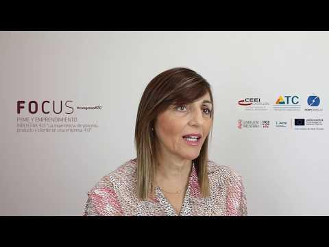 Focus Pyme Industria 4.0. Entrevista a María Empar Martínez Bonafé. Generalitat Valenciana[;;;][;;;]
