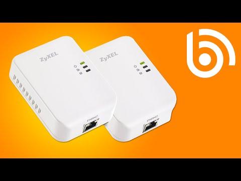 ZyXEL PLA4205 HomePlug Starter Kit