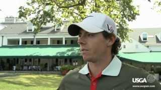 Merion Golf Club 2013 U.S. Open- Rory McIlroy Talks Post Practice Round