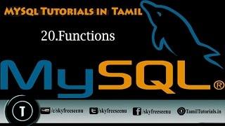 MYSQL Tutorials In Tamil 20 Functions
