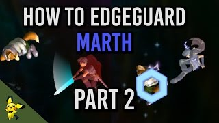 How to Edgeguard Marth Part 2 – SSBM Tutorials (x-post r/ssbm)