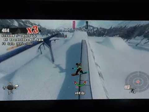 Shaun White Snowboarding shredding in B.C (видео)