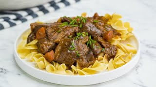 Short-Rib Beef Bourguignon // Presented by LG USA by Tasty