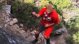 Mike Wilson 99 Foot Rope Swing Quadruple Backflips