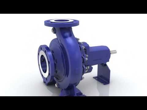 KSB Etanorm -- Standardised Water Pump to EN 733