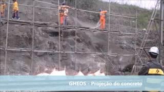 [Vídeo] Serviço de concreto projetado