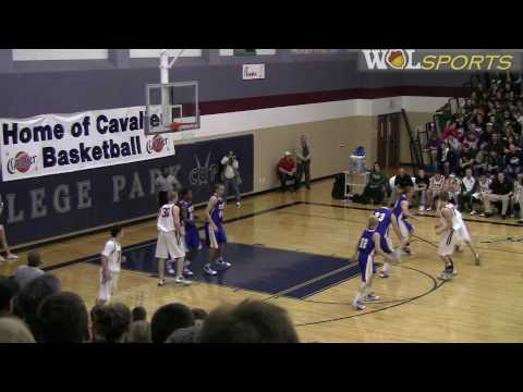 High School Men's Basketball Highlights: The Woodlands vs. Klein, Playoffs 2010