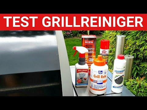 ♨️ GRILLBLITZ: Test Grillreiniger 2017, Dr. Becher, Mellerud, K2r, Ballistol Kamofix und Maxxi Clean