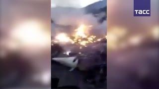 В Пакистане разбился пассажирский самолет, на борту было 48 человек