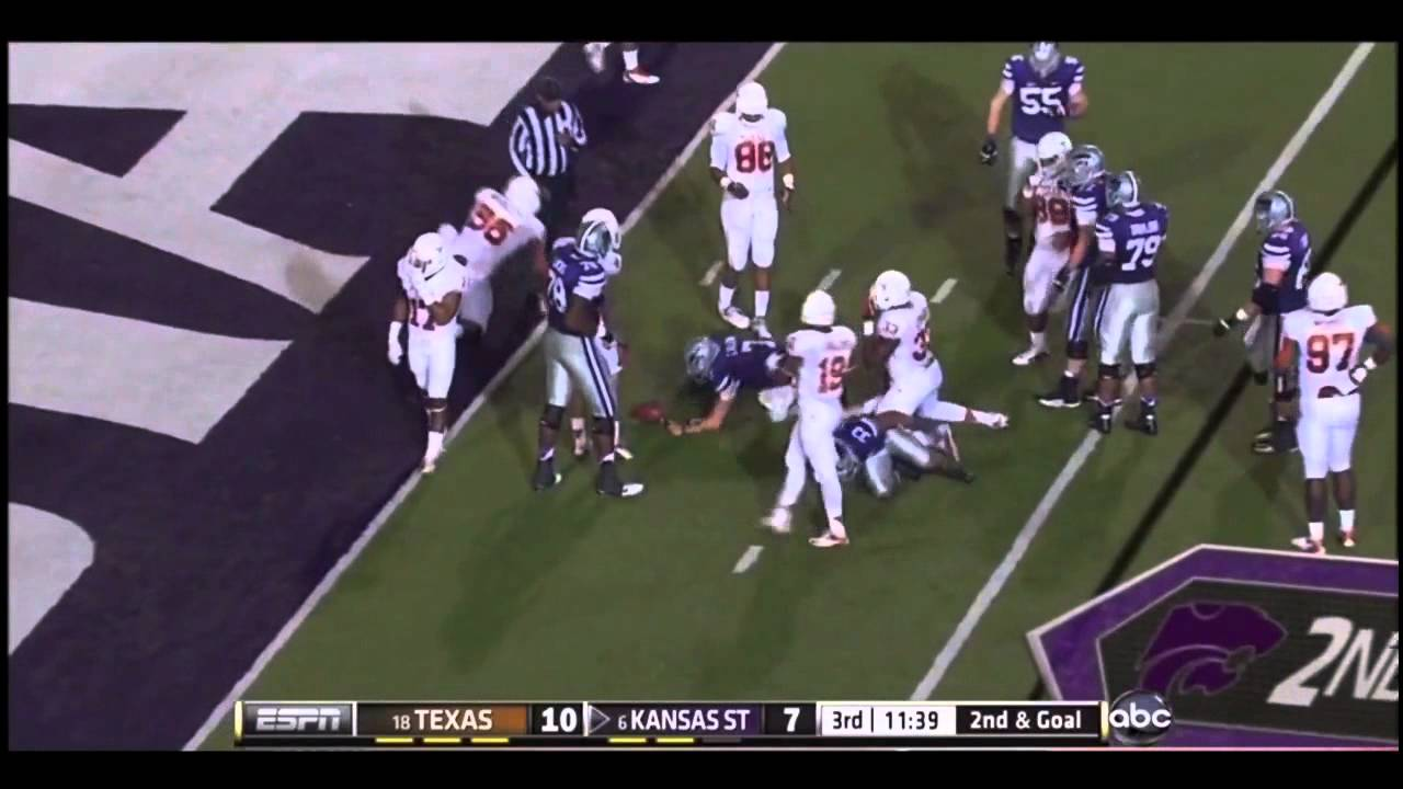 Kenny Vaccaro vs Kansas State (2012)