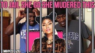 Nicki Minaj - Barbie Tingz (Lyric Video)(Reaction)