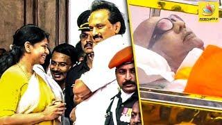 Video எதிர்பாராத நிகழ்வுகள் : Kalaignar Karunanidhi Funeral   MK Stalin , Kanimozhi MP3, 3GP, MP4, WEBM, AVI, FLV Agustus 2018